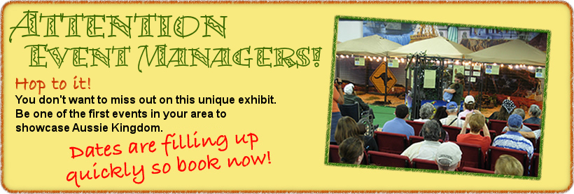 Book Aussie Kingdom Stage Show for your next Fair